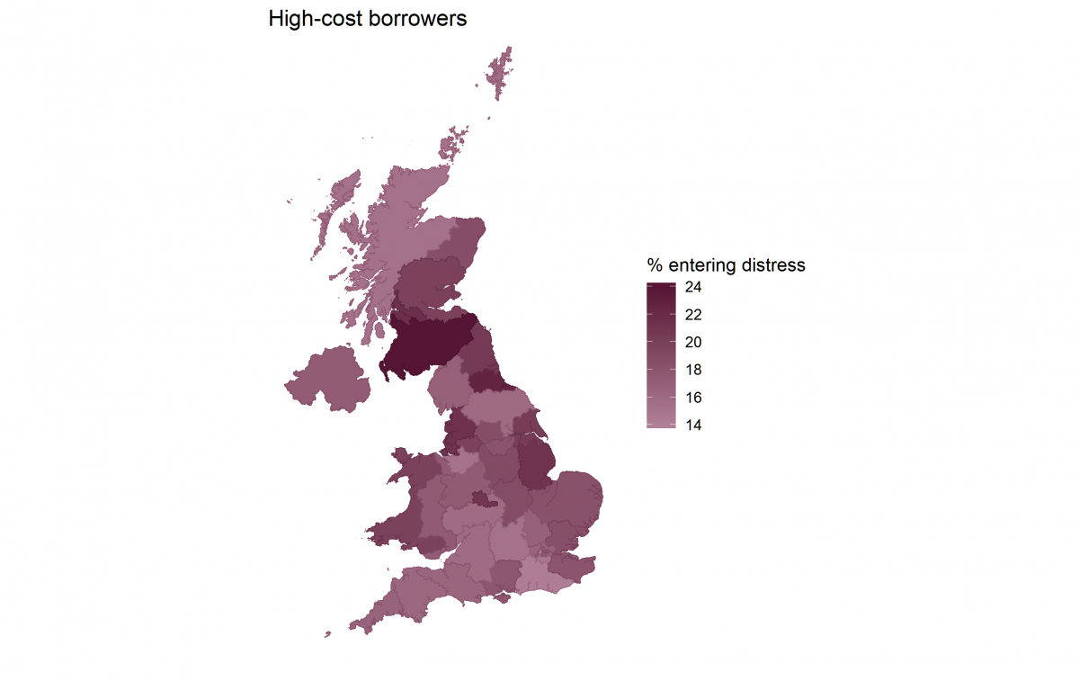 High-cost borrowers