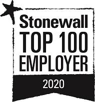 Stonewall top 100 employer