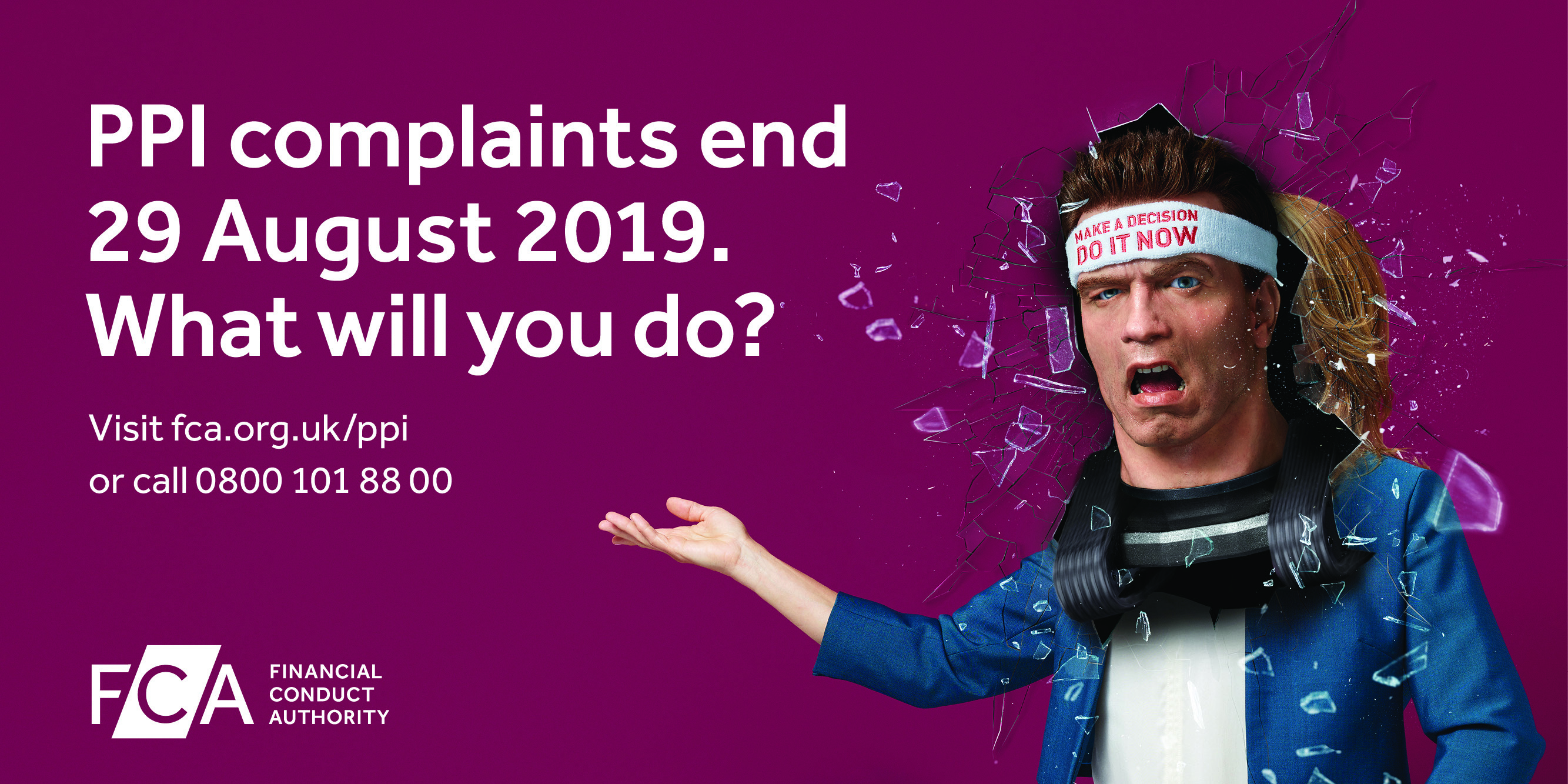 Fca starts countdown to ppi complaints deadline with advertising ppi campaign deadline poster landscape solutioingenieria Choice Image